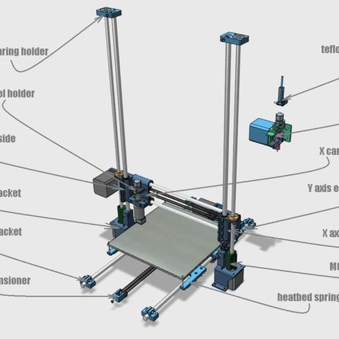 Capture d'écran 2018-02-01 à 10.28.42.png Download free STL file Portable 3D Printer • 3D printable design, Job