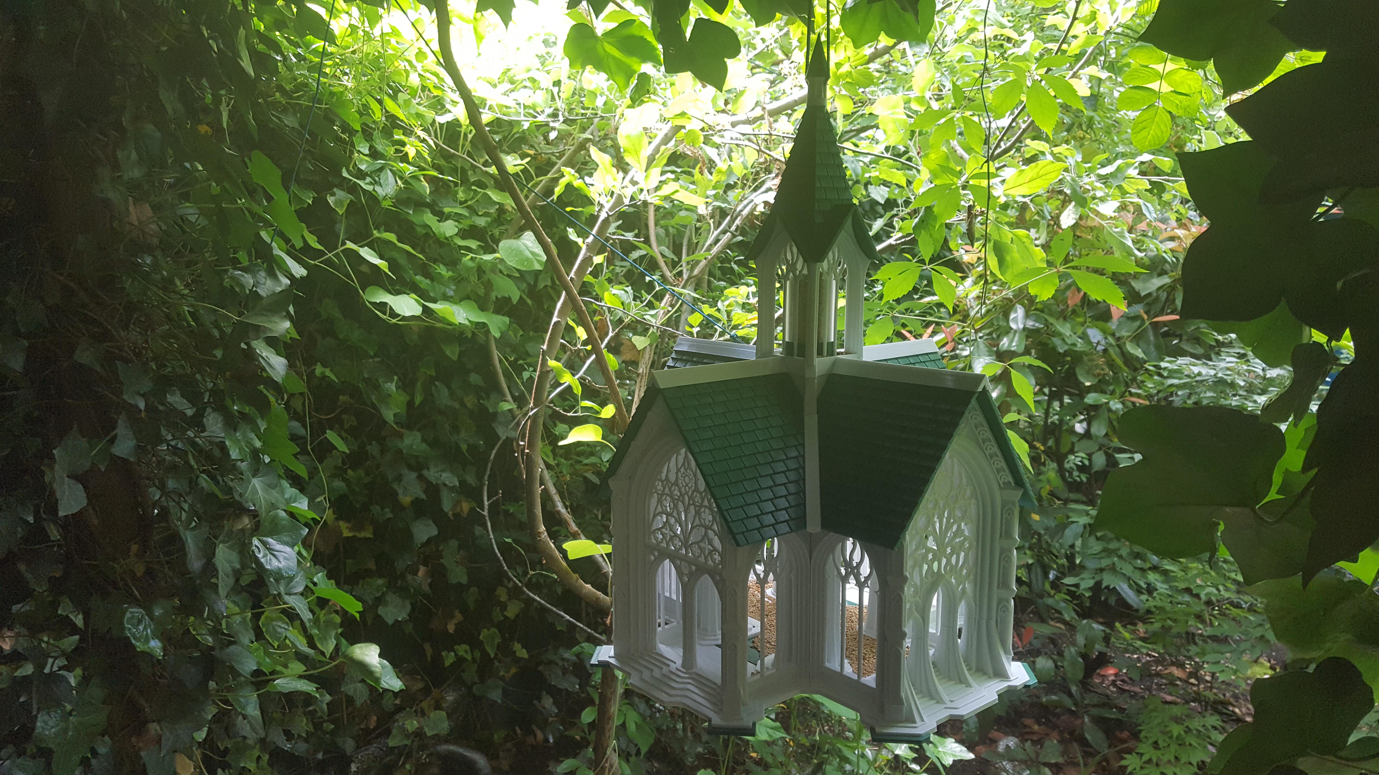 20190614_143831.jpg Télécharger fichier STL Cathédrale des oiseaux • Objet imprimable en 3D, Job