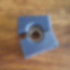 Download free 3D printer files Bearing Block diameter 51mm x 12mm hole 25mm, Job