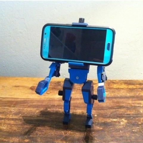 Descargar modelo 3D gratis Cabeza del teléfono, Job