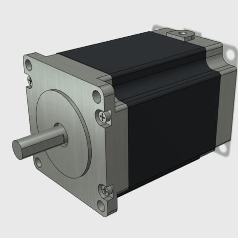 Download free 3D printing files Stepper Motor JK57HS76-2804-14 Mock up model, Job
