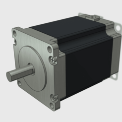 Free Stepper Motor JK57HS76-2804-14 Mock up model 3D model, Job