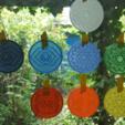 Download free STL file Chakra coaster • 3D printer template, Job