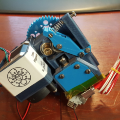Free 3D model Easy exchange filament extruder, Job