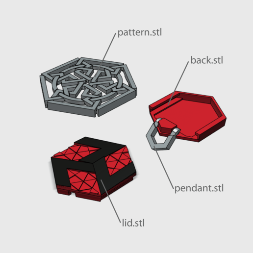 medalion4.png Download free STL file Secret geometry medallion • 3D printable model, Job