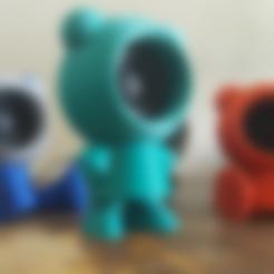 Download free 3D print files Speaker Friends, Job