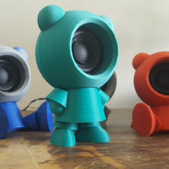 Free 3D print files Speaker Friends, Job