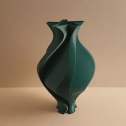 Free 3D printer files Leave Vase, Job