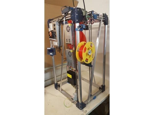 dc02390cafefa3a1c7181efff30725d9_preview_featured.jpg Download free STL file FDM Printer de Kleine Reus 300x300x900 • 3D printable object, Job