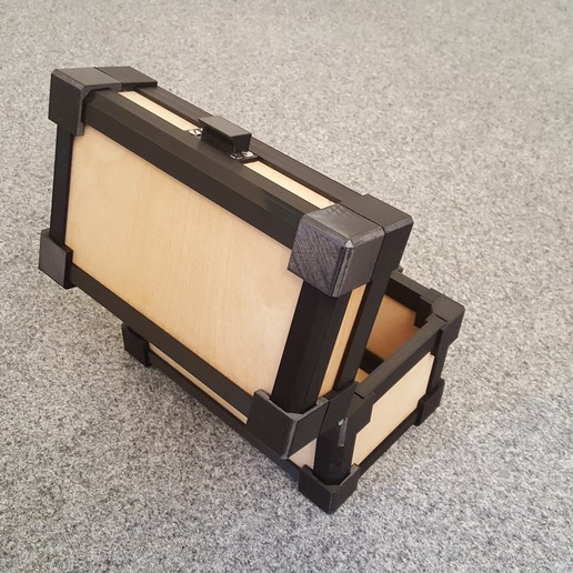 20190818_164313.jpg Download STL file LazyMans Box • Model to 3D print, Job