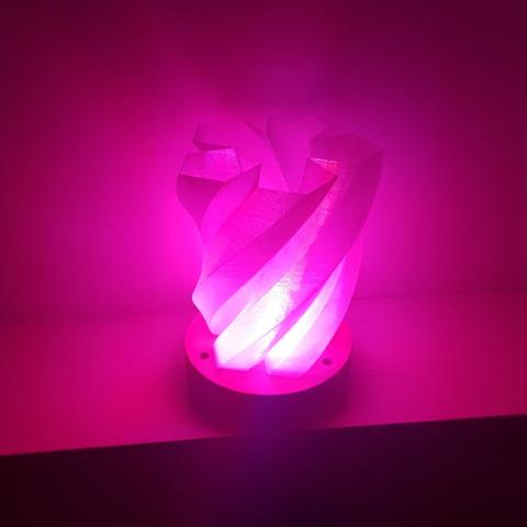 Capture d'écran 2017-05-29 à 10.05.14.png Télécharger fichier STL gratuit Lampe Pentagram • Objet imprimable en 3D, Job