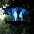 Free 3d model The Light Sky Bird Temple, Job
