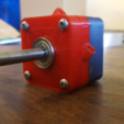 Free 3d printer model Compressed air turbine, Job