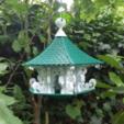 Free 3D print files Flowing Bird Temple, Job