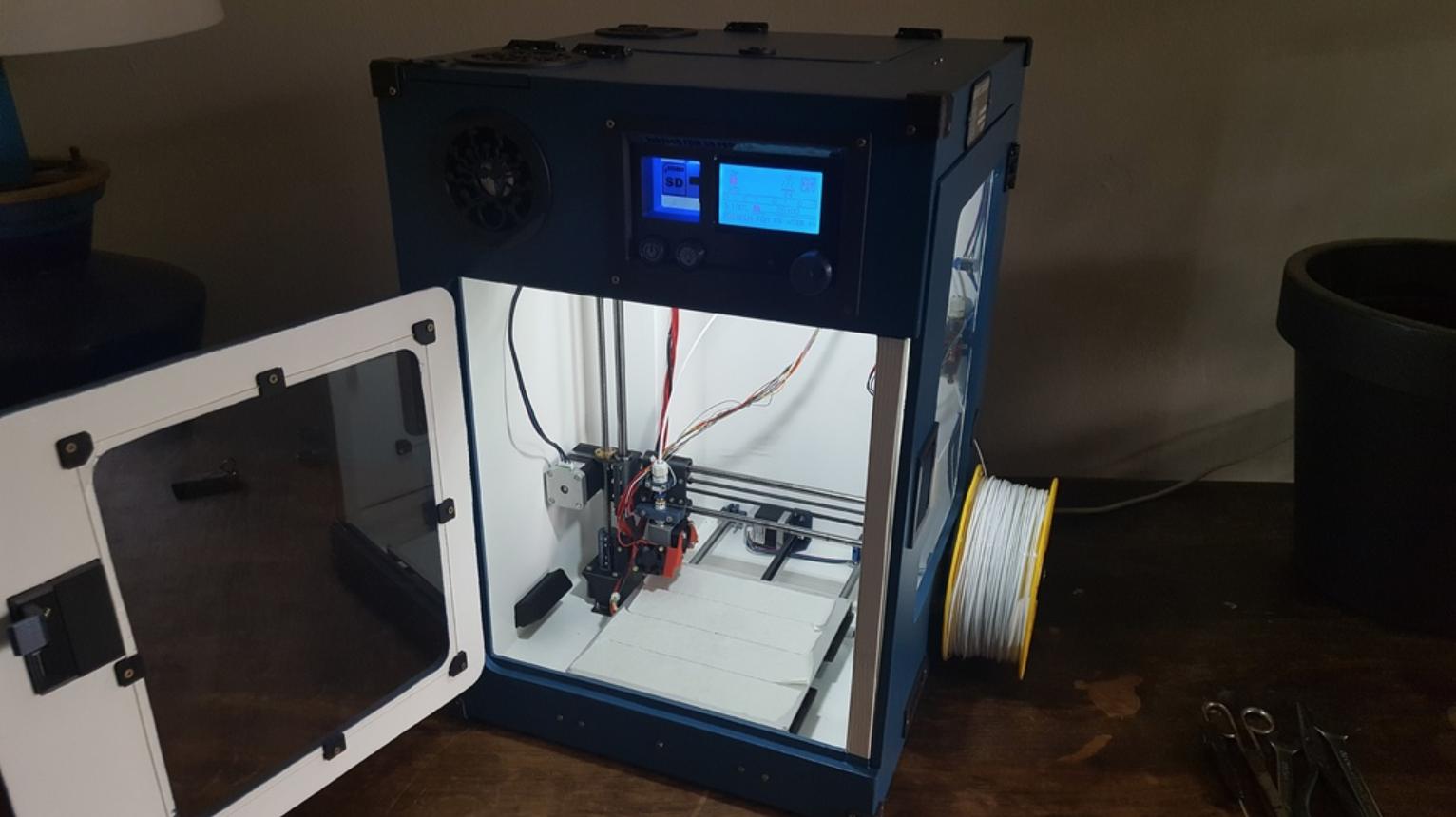 Capture d'écran 2018-02-01 à 10.27.54.png Download free STL file Portable 3D Printer • 3D printable design, Job