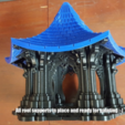 Free 3D model Bird Temple, Job
