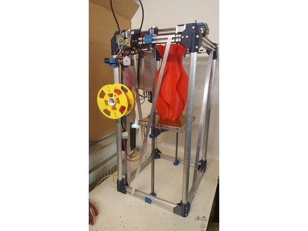 ef6b6c29283d76c5814acb323c15456c_preview_featured.jpg Download free STL file FDM Printer de Kleine Reus 300x300x900 • 3D printable object, Job
