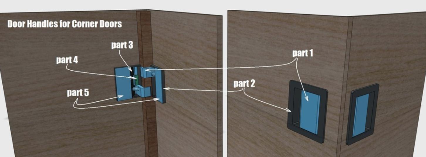 Capture d'écran 2018-01-12 à 14.21.49.png Download free STL file Door Handles • Object to 3D print, Job