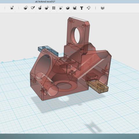 Capture d'écran 2017-05-29 à 09.53.41.png Download free STL file Anet A6 J-Hotend mod • 3D printer object, Job