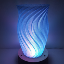 Free 3d printer designs Wave Lamp 2, Job
