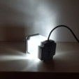 Download free 3D printing models Nema 23 Stepper Motor Lamp, Job