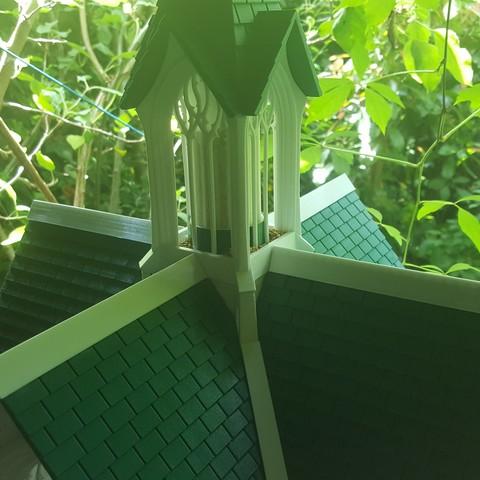 20190614_143859.jpg Télécharger fichier STL Cathédrale des oiseaux • Objet imprimable en 3D, Job