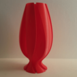 Free 3D printer files Wave Carved Torpedo Vase, Job