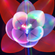 Free Servo Flower 3D model, Job