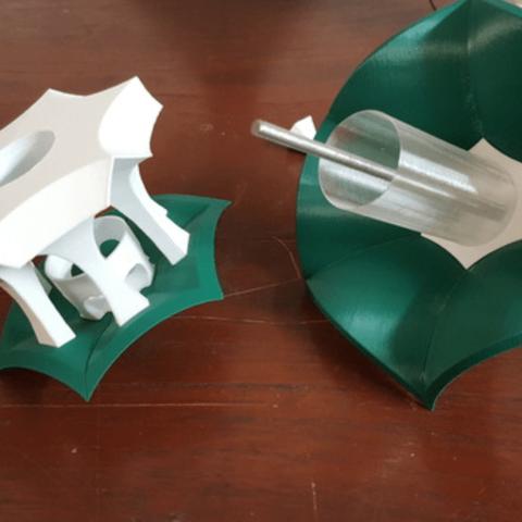 Capture d'écran 2018-06-06 à 11.20.02.png Download free STL file Little Bird Feeder Air Temple • 3D printer model, Job