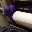 Download free 3D printer templates Paper towel man, Job