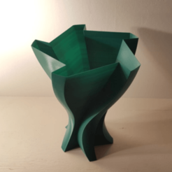 Free stl files Test Vase 4, Job