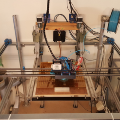 Free STL files BIG DIY 3D Printer, Job