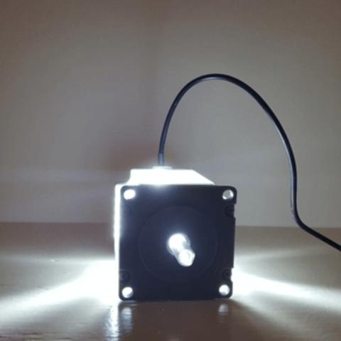 Capture d'écran 2018-04-25 à 10.19.13.png Télécharger fichier STL gratuit Nema 23 Lampe à moteur pas à pas • Objet à imprimer en 3D, Job