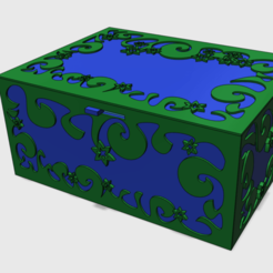 Download free 3D printing models The lost Box, Job