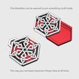 medalion1.png Download free STL file Secret geometry medallion • 3D printable model, Job
