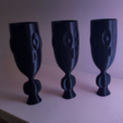 Diseños 3D gratis Figura Jarrón, Job