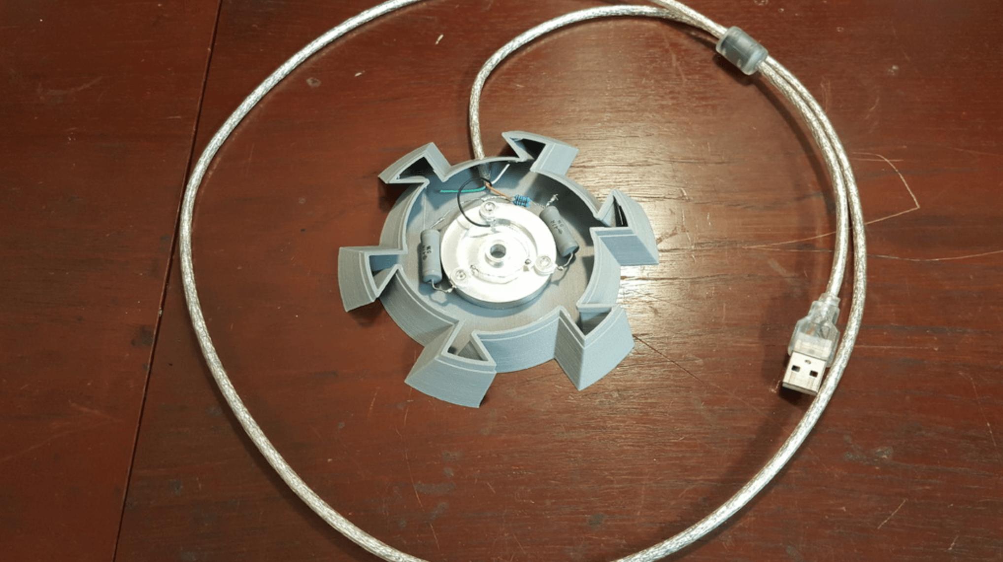 Capture d'écran 2018-05-21 à 15.50.18.png Download free STL file Golden Wave Lamp • 3D printing model, Job