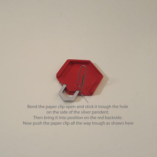 medallion parts and assembly2.jpg Download free STL file Secret geometry medallion • 3D printable model, Job