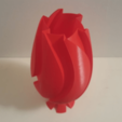 Free 3D print files UpSideDown Classic Wave Vase, Job