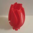 Download free 3D printing models UpSideDown Classic Wave Vase, Job