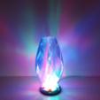 Download free 3D printing designs Lightning Carved Lamp, Job