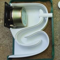 Download 3D print files Sand filled Bookshelf Speaker, Job
