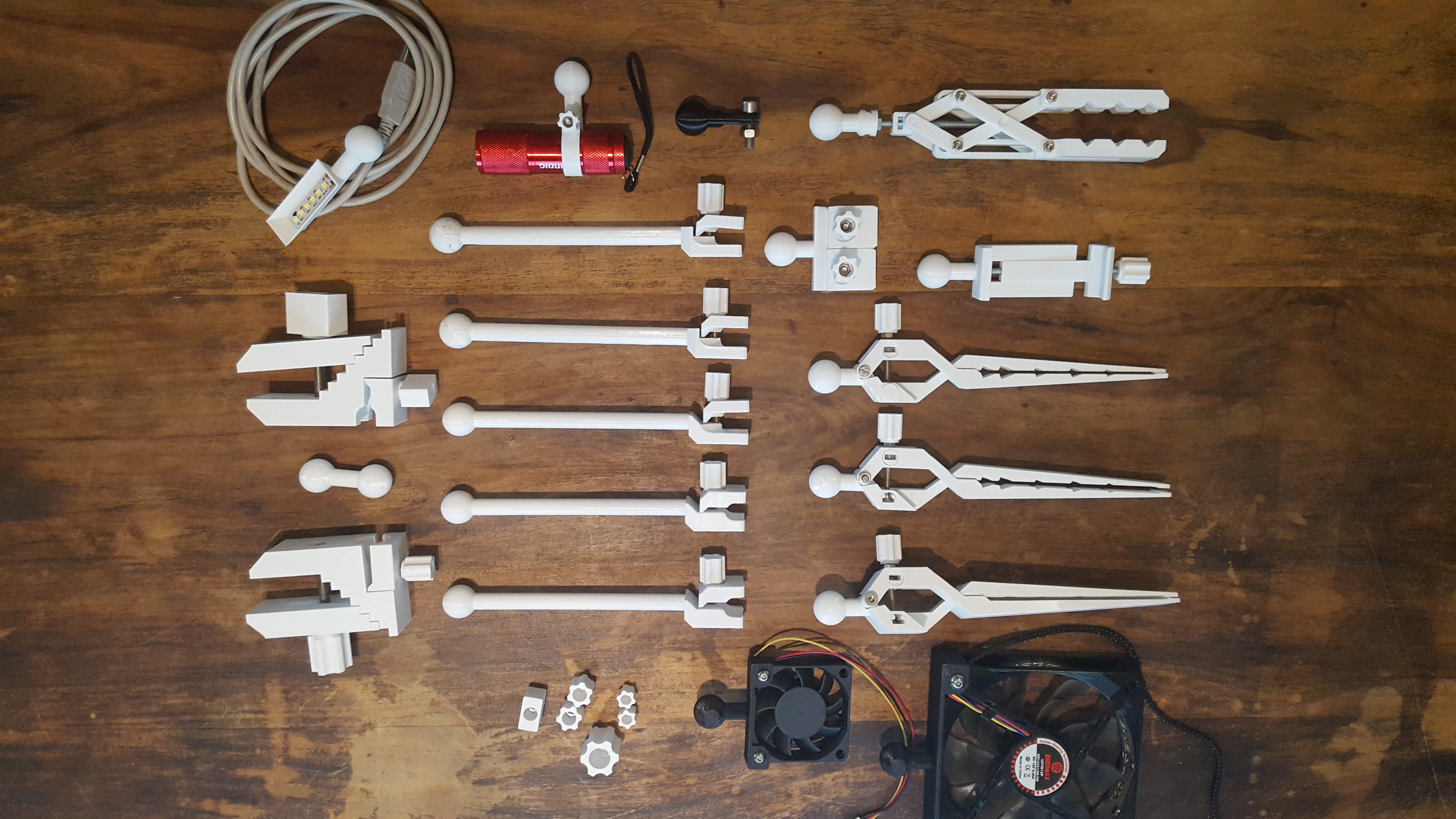 20190816_180417.jpg Download STL file Universal Arm • 3D printable template, Job