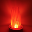 Free 3D printer designs Cloud lamp / Vase, Job
