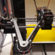 Download free 3D printer files Anet A6 Cable holder X wagen, Job