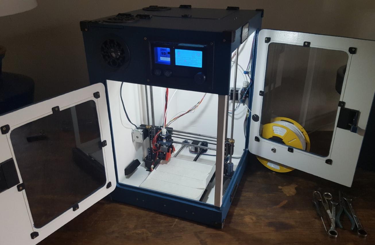 Capture d'écran 2018-02-01 à 10.28.03.png Download free STL file Portable 3D Printer • 3D printable design, Job