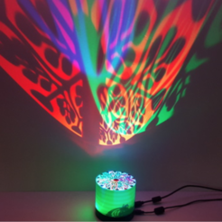 Free stl file RGB Projector Lamp, Job