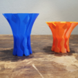 Free 3D printer designs Flow Vase, Job