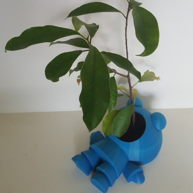 Capture d'écran 2017-06-08 à 10.35.08.png Download free STL file Plant eating Man • 3D printer template, Job