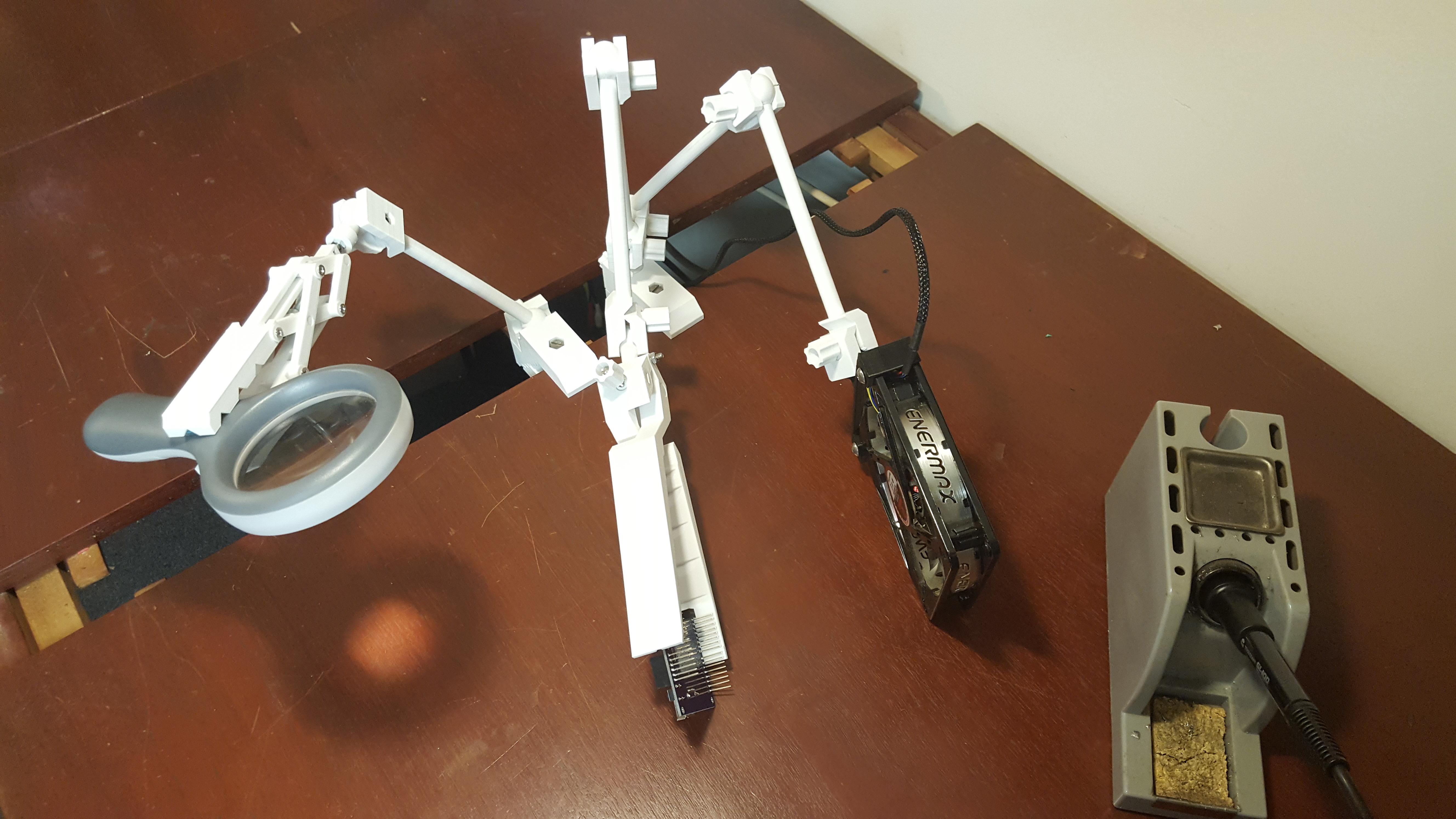 20190814_170747.jpg Download STL file Universal Arm • 3D printable template, Job